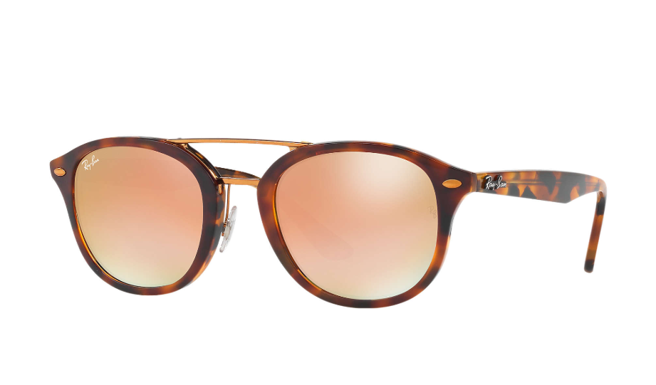 Óculos de Sol Ray-Ban High Street Tartaruga RB2183 - 1127/B9/53
