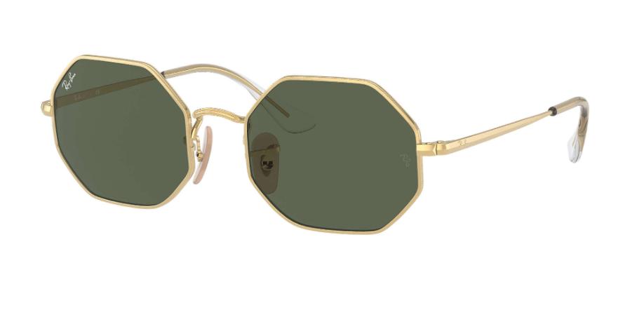 Óculos de Sol Ray-Ban Infantil Jr Octagon Dourado RJ9549S - 223/71/48