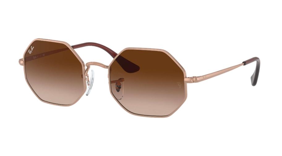Óculos de Sol Ray-Ban Infantil Jr Octagon Rosé RJ9549S - 283/13/48
