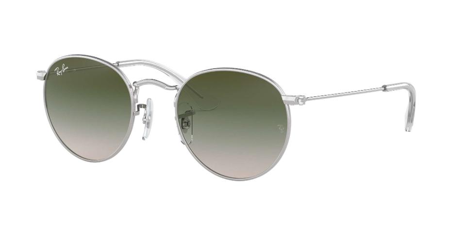 Óculos de Sol Ray-Ban Infantil Jr Round Prata RJ9547S - 212/2C/44