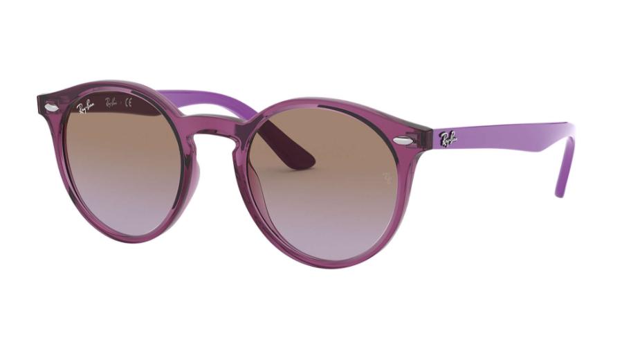 Óculos de Sol Ray-Ban Infantil Jr Violeta RJ9064S - 706468/44