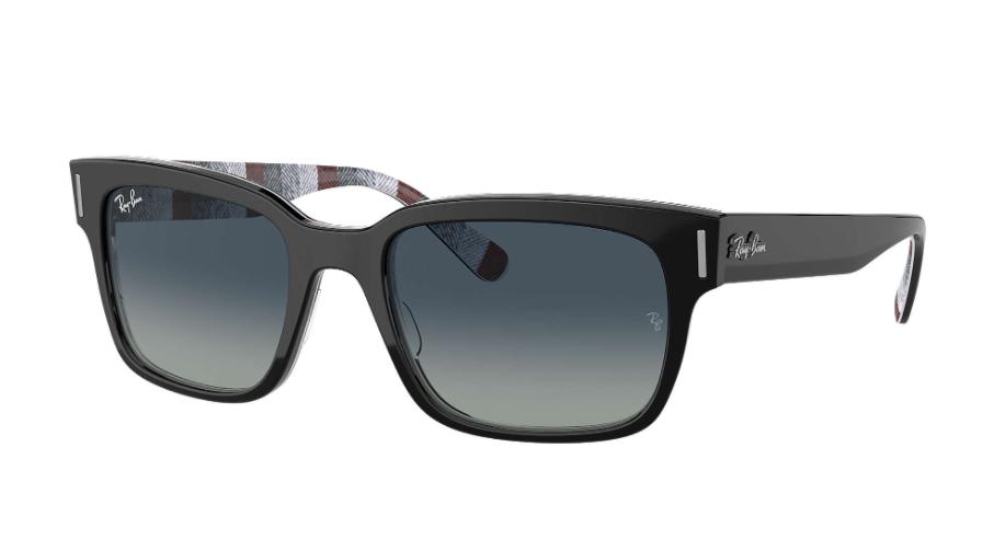 Óculos de Sol Ray-Ban Jeffrey Preto RB2190 - 13183A/55