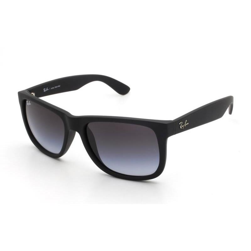 Óculos de Sol Ray-Ban Justin Preto RB4165L - 601/8G/57