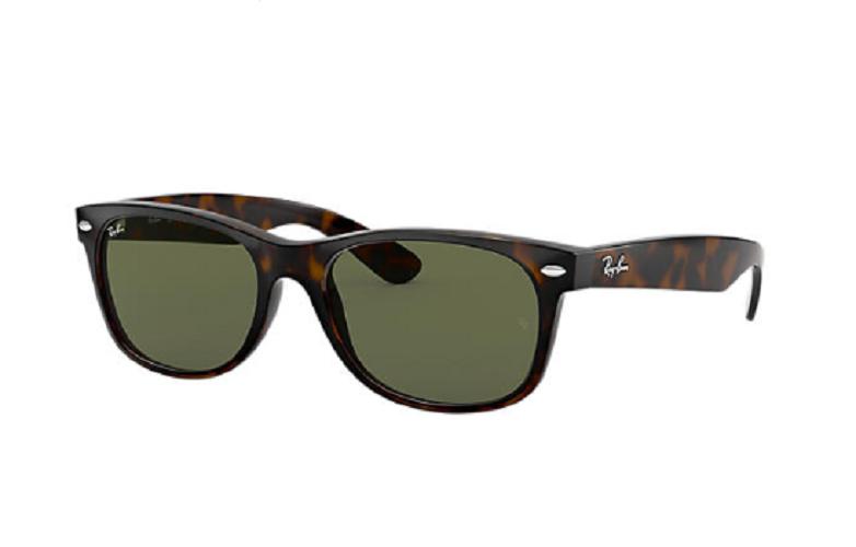 Óculos de Sol Ray-Ban New Wayfarer Preto RB2132LL - 902L/52