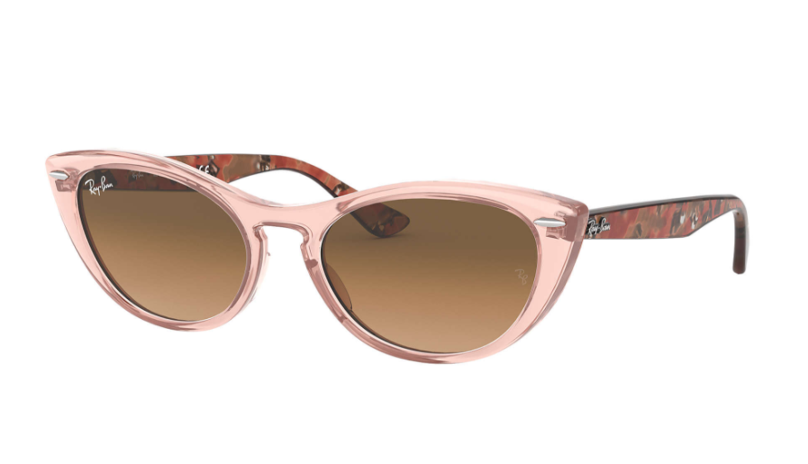Óculos de Sol Ray-Ban Nina Rosa Transparente RB4314N - 128151/54
