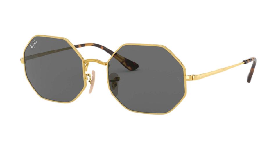 Óculos de Sol Ray-Ban Octagon Dourado RB1972 - 9150B1/54