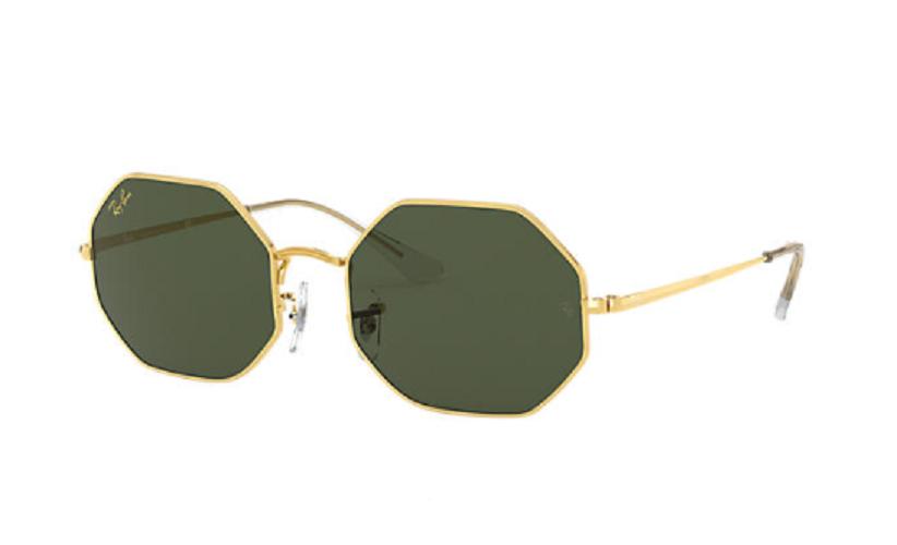 Óculos de Sol Ray-Ban Octagon Dourado RB1972 - 919631/54
