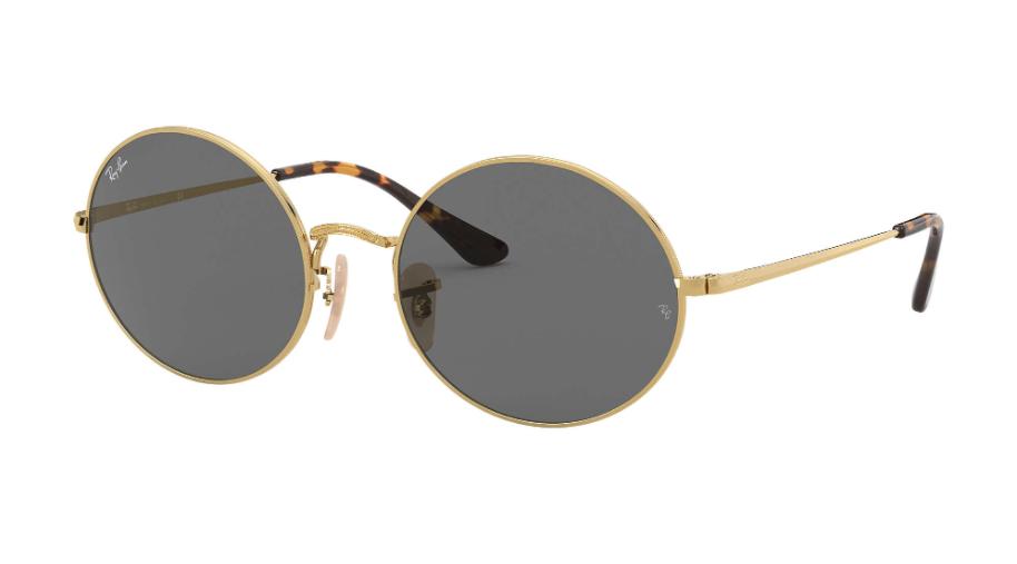 Óculos de Sol Ray-Ban Oval Dourado RB1970 - 9150B1/54