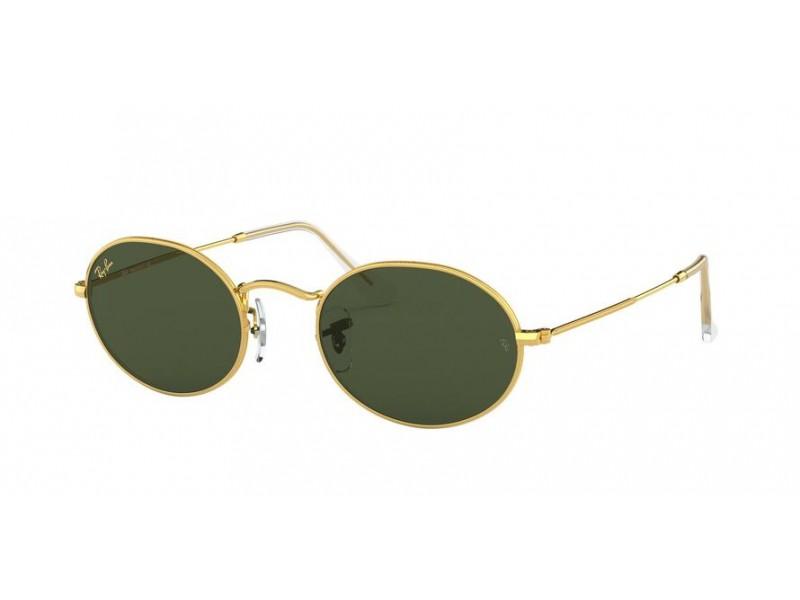 Óculos de Sol Ray-Ban Oval Legend Gold Dourado RB3547 - 9196/31/54