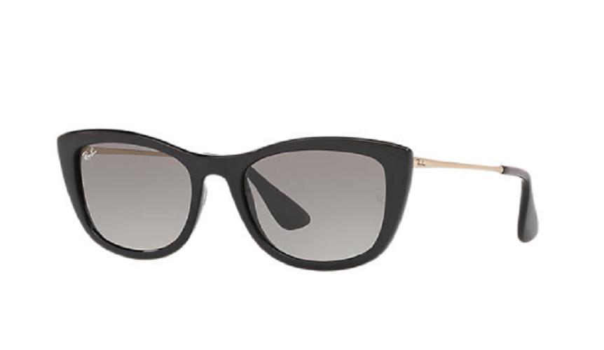 Óculos de Sol Ray-Ban Preto/Dourado RB4327L - 601/11/54