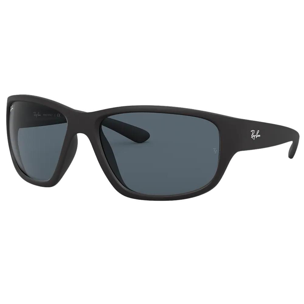 Óculos de Sol Ray-Ban Preto Fosco RB4300 - 601SR5/63