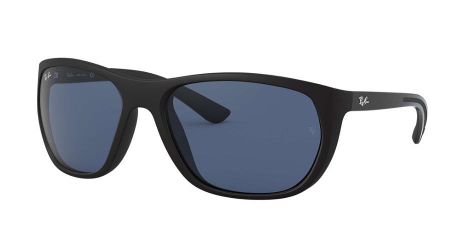 Óculos de Sol Ray-Ban Preto Fosco RB4307 - 601S80/61