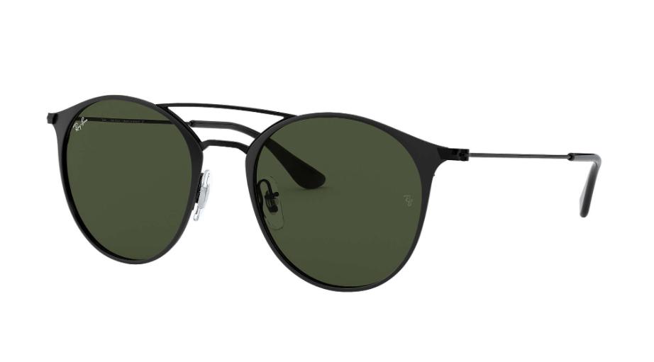 Óculos de Sol Ray-Ban Preto RB3546L - 186/52