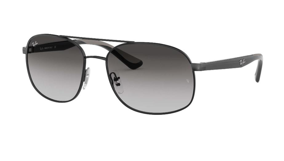 Óculos de Sol Ray-Ban Preto RB3593 - 002/8G/58