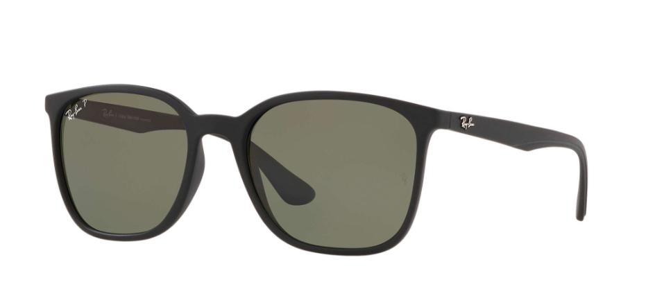 Óculos de Sol Ray-Ban Preto RB4316L - 601S9A/56 Polarizado