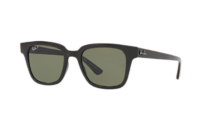 Óculos de Sol Ray-Ban Preto RB4323L - 601/9A/51 Polarizado
