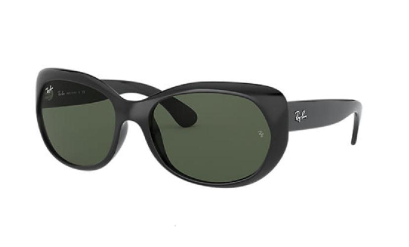 Óculos de Sol Ray-Ban Preto RB4325L- 601/71/59