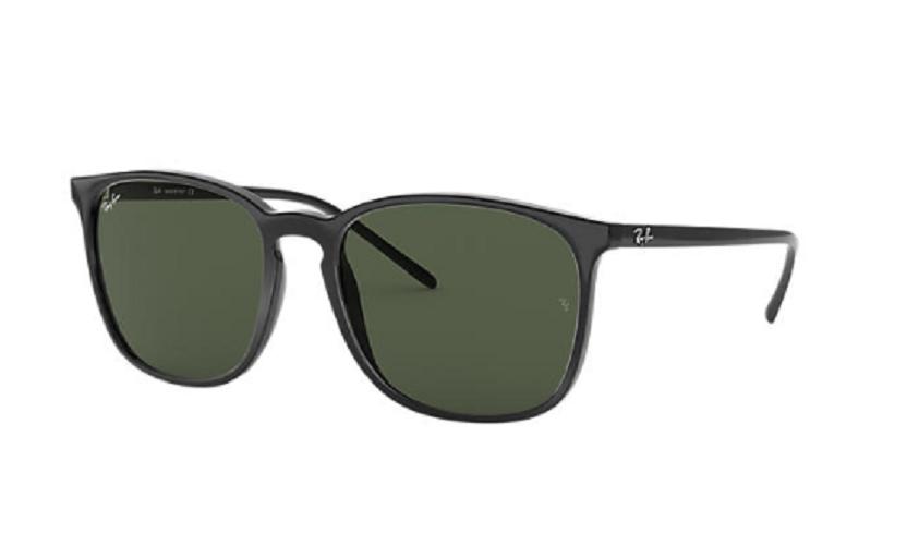 Óculos de Sol Ray-Ban Preto RB4387 - 601/71/56