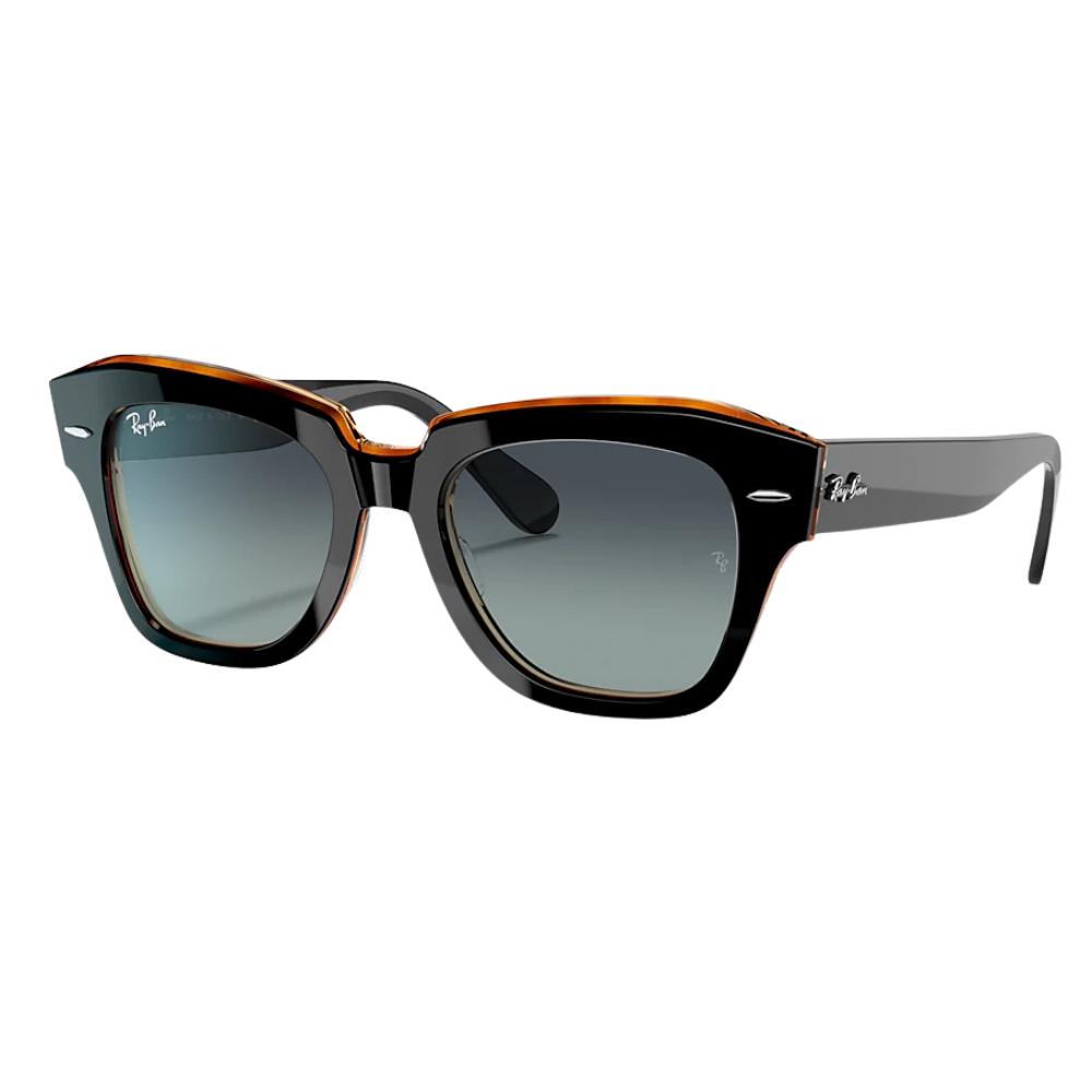 Óculos De Sol Ray-Ban State Street Preto RB2186 132241/52