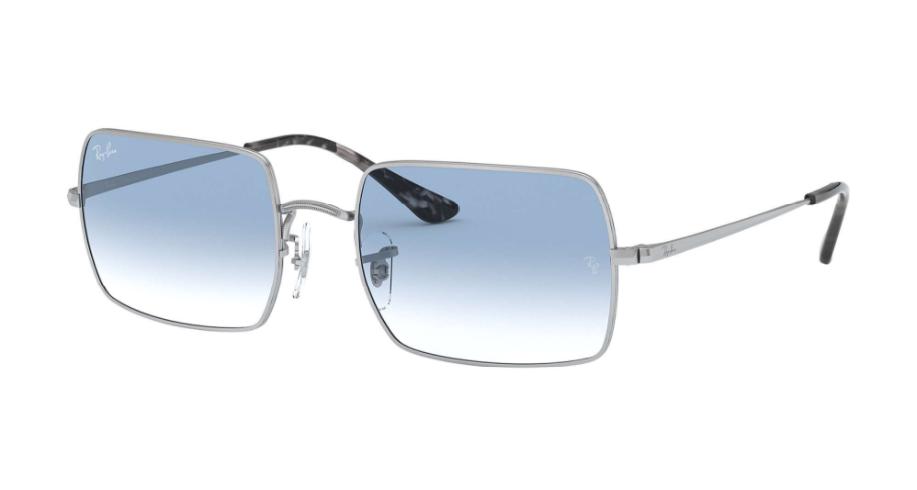 Óculos de Sol Ray-Ban Rectangle Prata RB1969L - 91493F/54