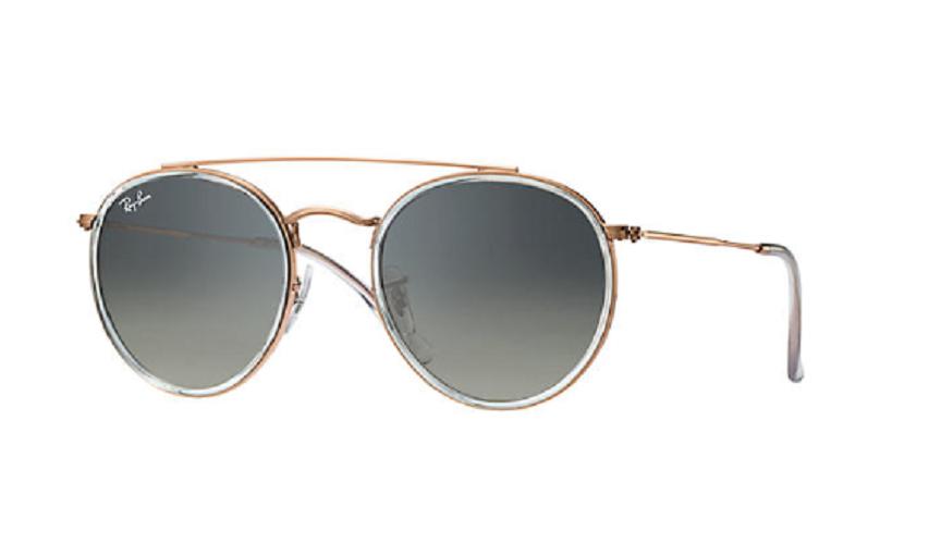 Óculos de Sol Ray-Ban Round Double Bridge Bronze RB3647N - 906771/51