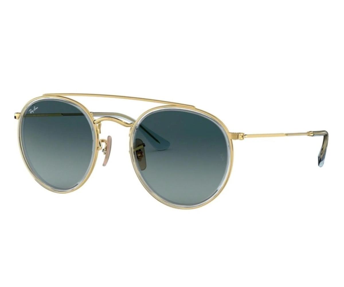 Óculos de Sol Ray-Ban Round Double Brigde RB3647N - 91233M/51