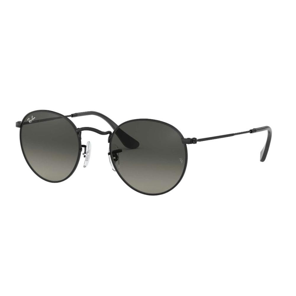 Óculos de Sol Ray-Ban Round Flat Preto RB3447NL - 002/71/53