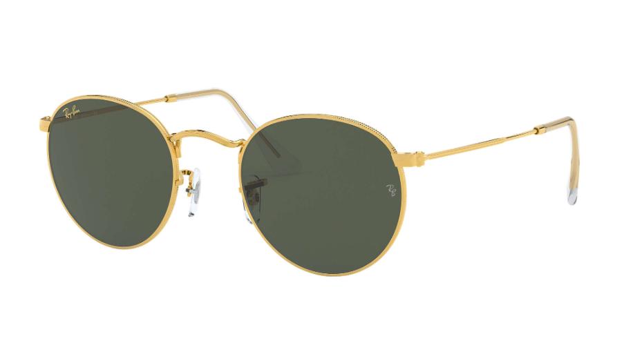 Óculos de Sol Ray-Ban Round Metal Dourado RB3447L - 919631/53