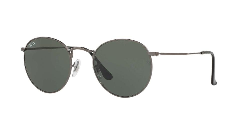 Óculos de Sol Ray-Ban Round Metal Grafite RB3447L - 029/53