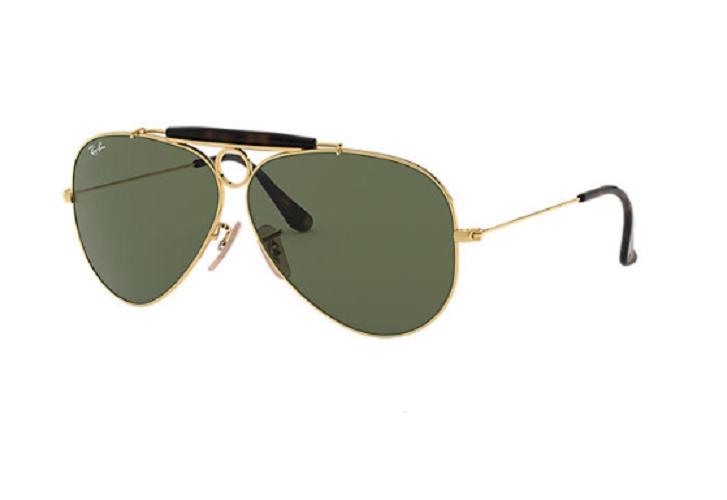 Óculos de Sol Ray-Ban Shooter Dourado RB3138 - 181/71/62