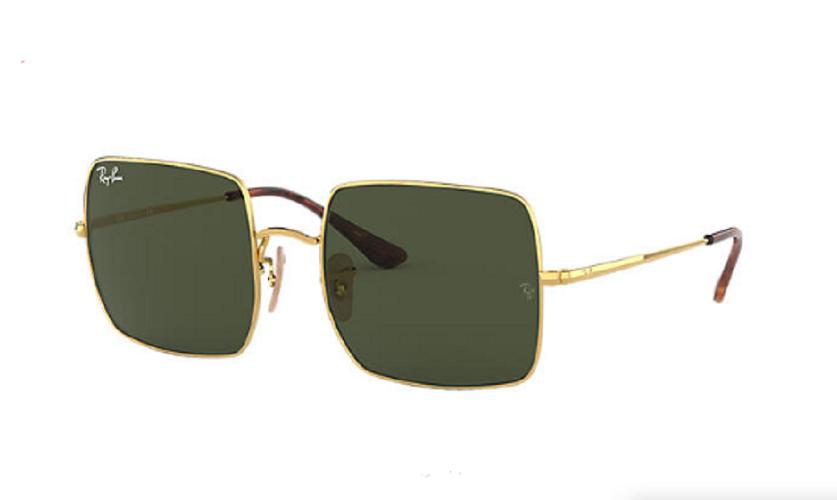 Óculos de Sol Ray-Ban Square Dourado RB1971 - 914731/54