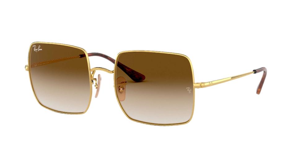Óculos de Sol Ray-Ban Square Dourado RB1971 - 914751/54