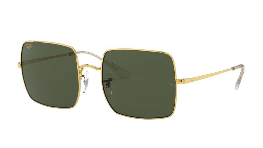 Óculos de Sol Ray-Ban Square Dourado RB1971L - 919631/54