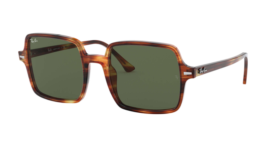 Óculos de Sol Ray-Ban Square II Tartaruga RB1973 - 954/31/53