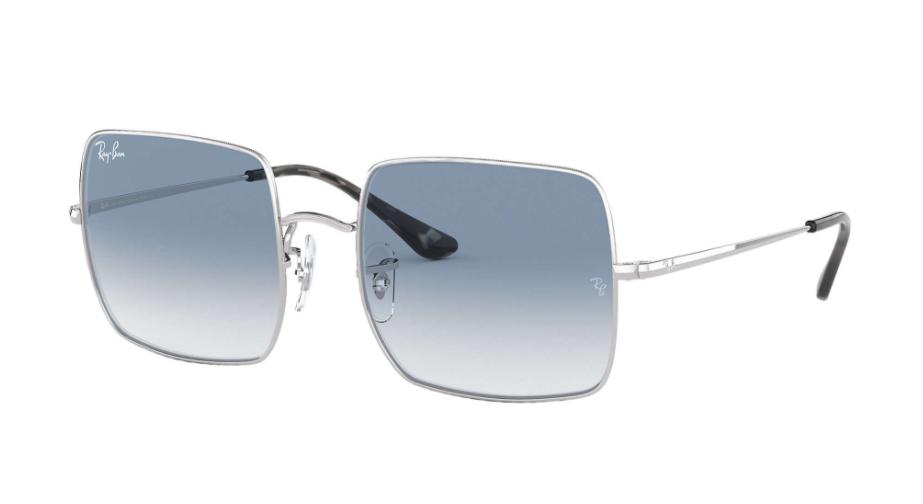 Óculos de Sol Ray-Ban Square Prata RB1971 - 91493F/54