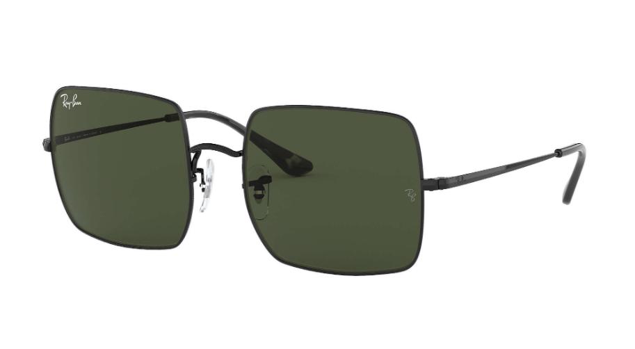 Óculos de Sol Ray-Ban Square Preto RB1971 - 914831/54