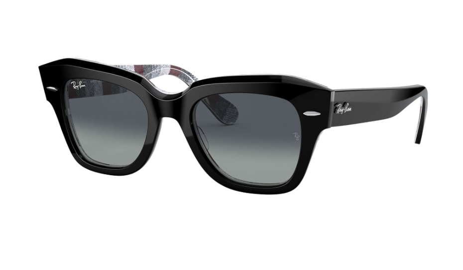 Óculos de Sol Ray-Ban State Street Preto RB2186 - 13183A/49