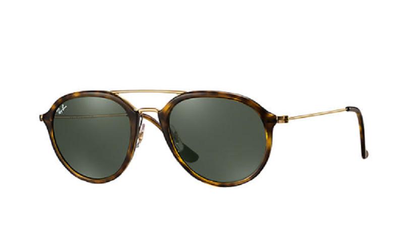 Óculos de Sol Ray-Ban Tartaruga/Dourado RB4253 - 710/53