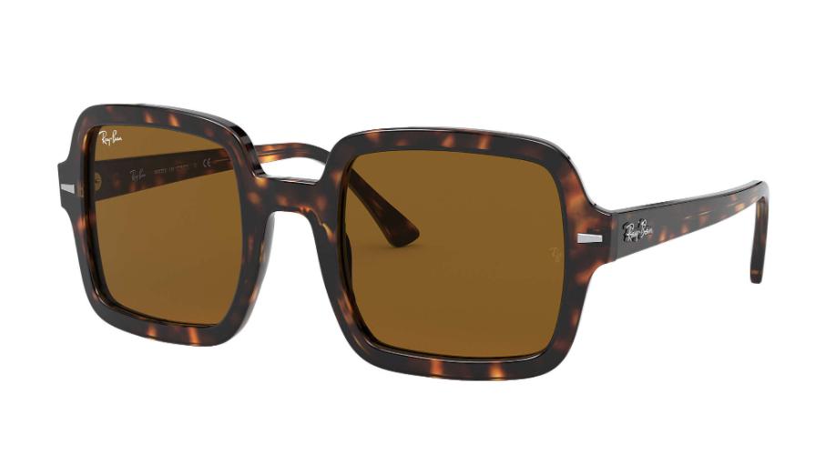 Óculos de Sol Ray-Ban Tartaruga/Marrom RB2188 - 902/33/53