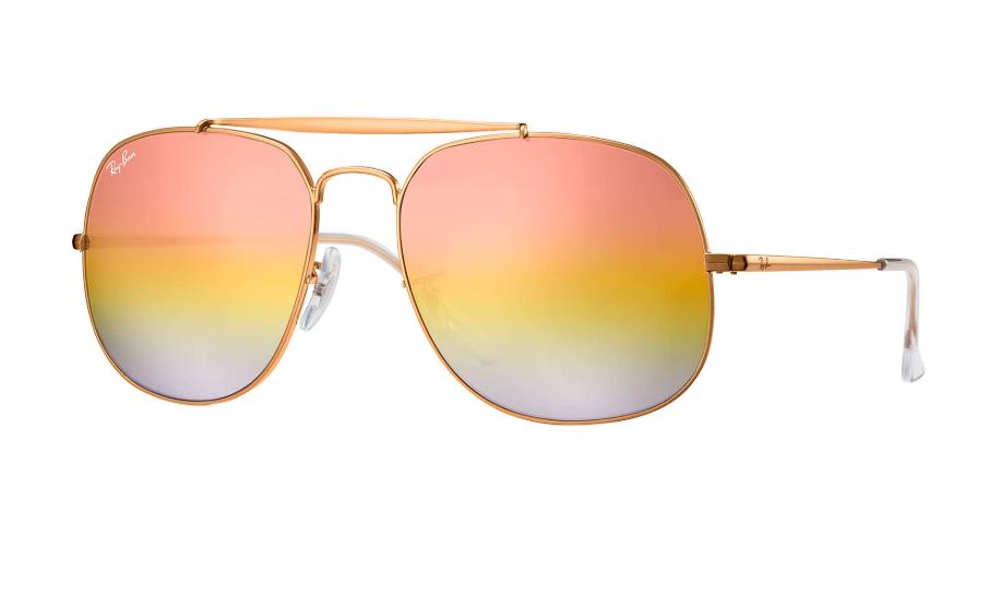 Óculos de Sol Ray-Ban The General Bonze-Acobreado RB3561 - 9001/11/57