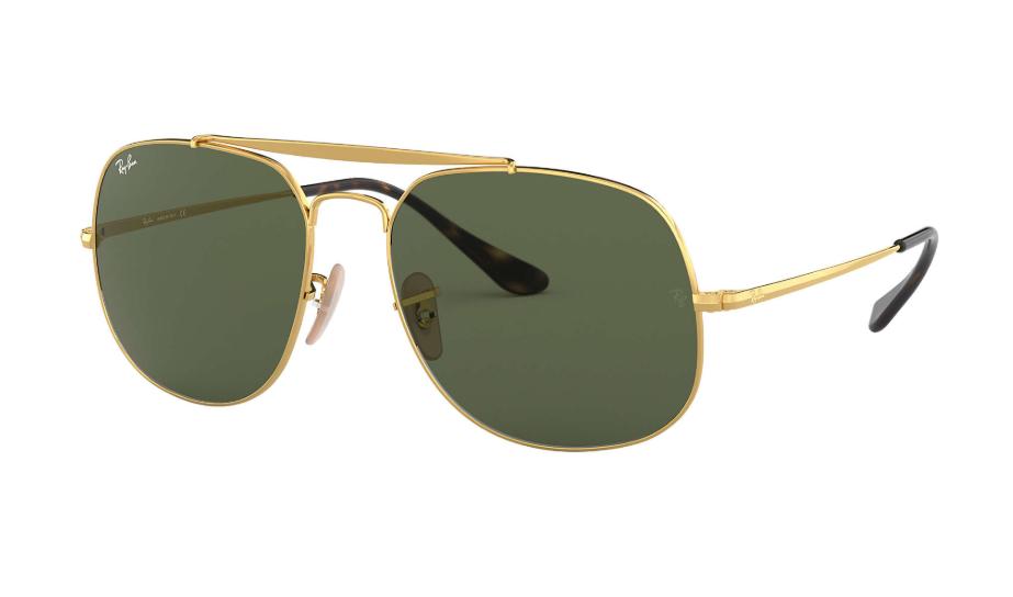 Óculos de Sol Ray-Ban The General Dourado RB3561L - 001/57