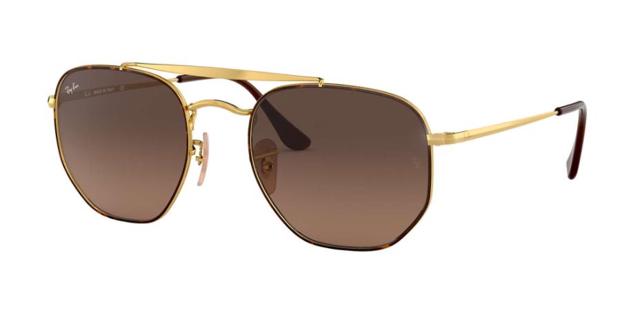 Óculos de Sol Ray-Ban The Marshal Havana RB3648 - 910443/54