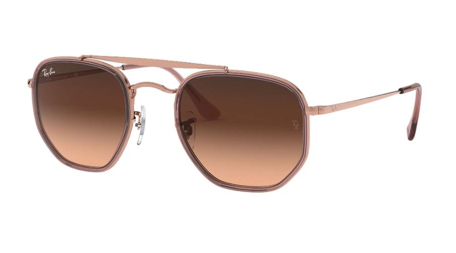 Óculos de Sol Ray-Ban The Marshal II Bronze Acobreado RB3648M - 9069A5/52