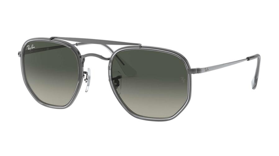 Óculos de Sol Ray-Ban The Marshal II Chumbo RB3648M - 004/71/52