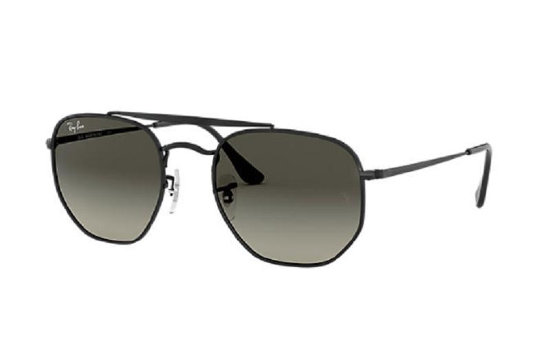 Óculos de Sol Ray-Ban The Marshal Preto RB3648L - 002/71/54