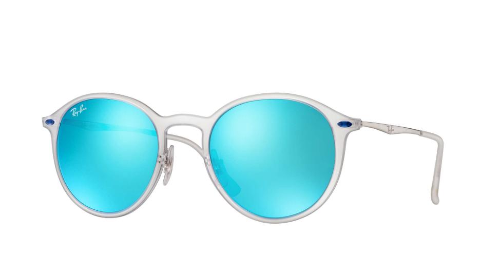 Óculos de Sol Ray-Ban Transparente/Prata RB4224 - 646/55/49