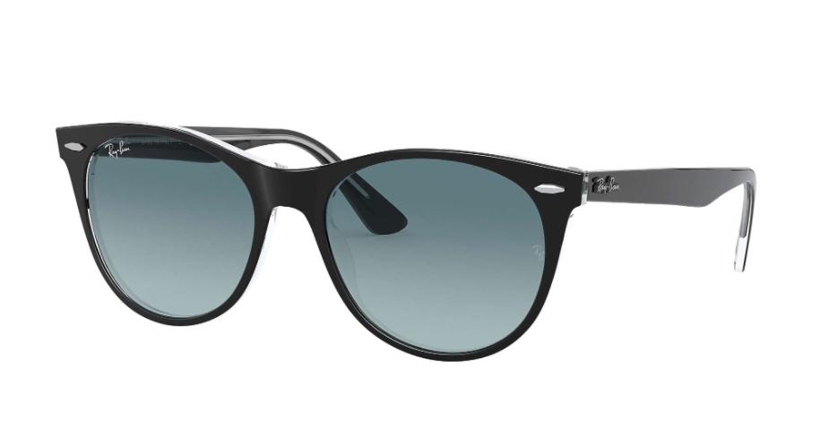 Óculos de Sol Ray-Ban Wayfarer II Preto RB2185 - 12943M/55
