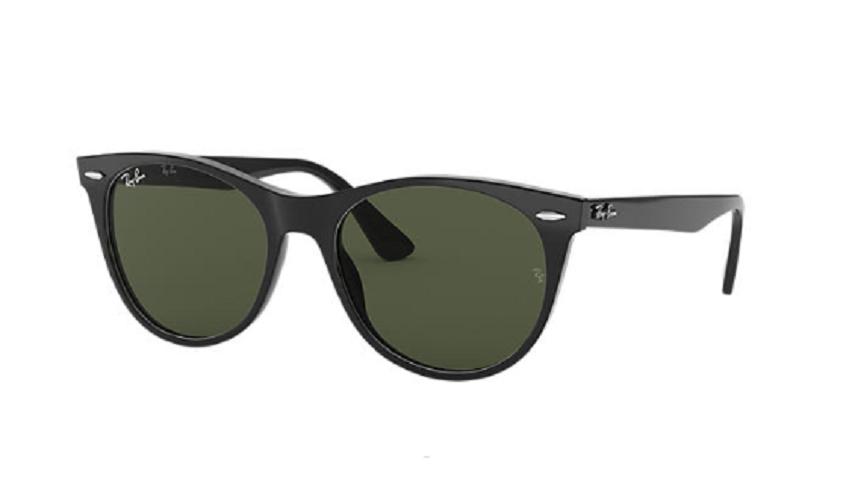 Óculos de Sol Ray-Ban Wayfarer II Preto RB2185 - 901/31/55