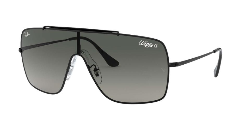 Óculos de Sol Ray-Ban Wings II Preto RB3697 - 002/11/70