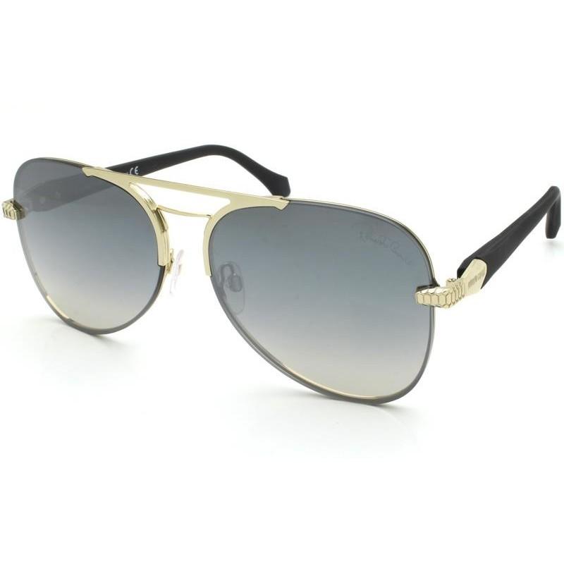 Óculos de Sol Roberto Cavalli Monteroni Preto/Dourado 1091 - 32C/60